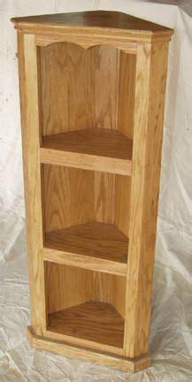 Solid Oak Corner Shelf by Amish Made Solid Oak Corner Shelf By Clayborne S Amish