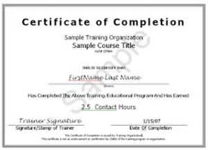 Asbestos Awareness Certificate Template 10 Certificate Of Completion Templates Word Excel Pdf