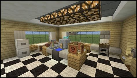 minecraft tutorial how to make a kitchen