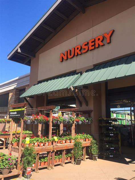home depot garden center editorial stock image image