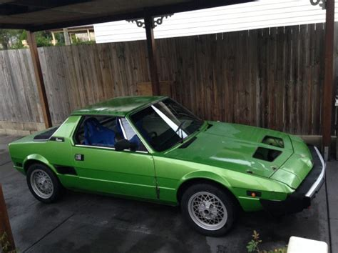 1979 fiat x19 1979 fiat x1 9 race4pleasure shannons club