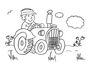 farmer coloring pages farm color page coloring home