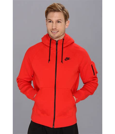 Sweater Jaket Hoodie Air 1 nike aw77 fleece fz hoodie in for lyst