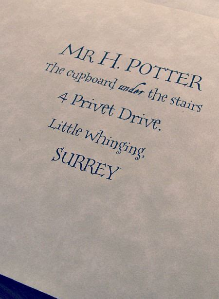 Real Harry Potter Acceptance Letter anyone who actually knows my family in real knows