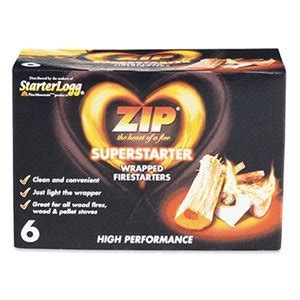 superlogg zip log starter 6 pk