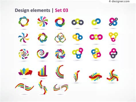 dynamic layout graphic design 4 designer dynamic graphic design vector material
