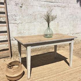 Table De Chevet Grise 267 by Atelier Marchal Brocante