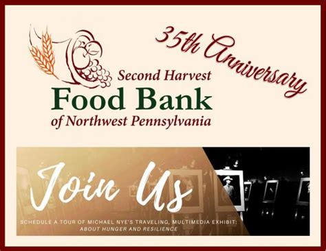 second harvest food bank of nwpa celebrates 35 years