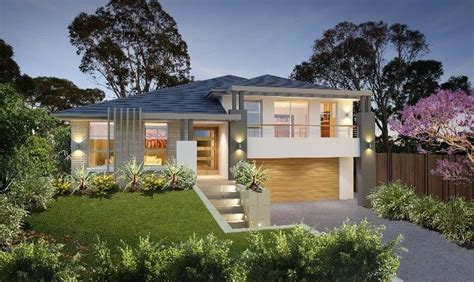 split level home timeless split level home meets masterton home designs bronte timeless rhs facade