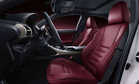 Lexus F Sport Interior by Car And Driver