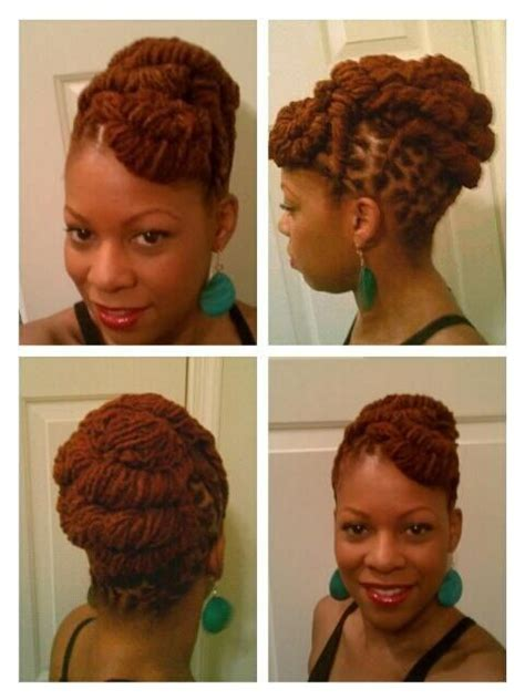 diy loc updo 18 best different styles of dreads images on pinterest