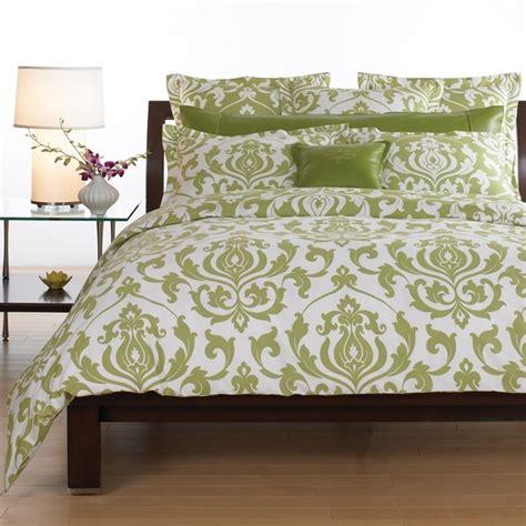 pretty green damask bedding decorating ideas pinterest