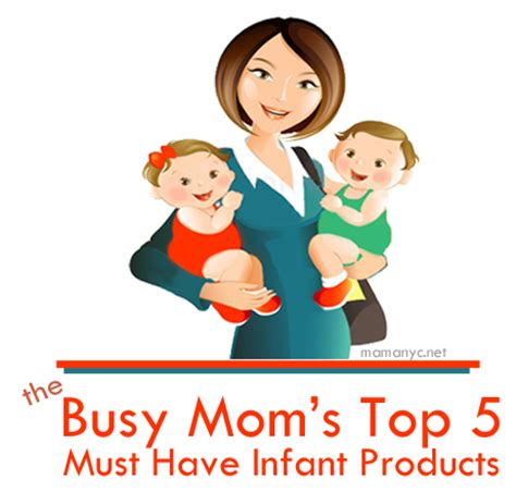 top 5 list of must have items for your home office infant products mom must have top 5 baby items mom needs