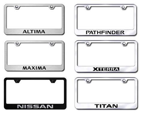 nissan license plate frame nissan license plate frames