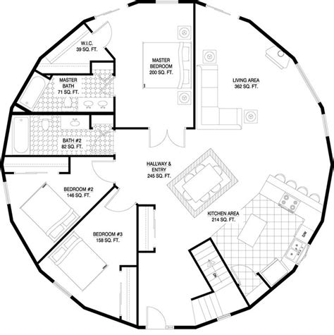 roundhouse floor plan deltec homes floorplan gallery round floorplans