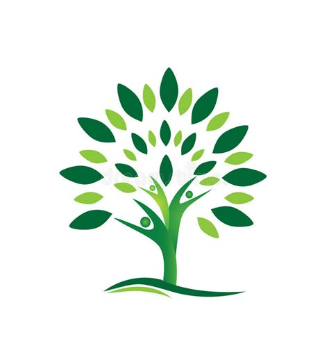 Teamwork People Tree Logo Vector Stock Vector Illustration Of Ecology Leafs 34023988 Teamwork Tree Logo Vector Stock Vector Illustration Of Ecology Leafs 34023988