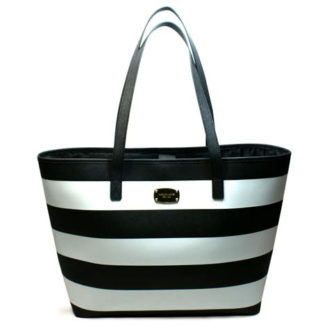 Michael Kors Jet set Travel Stripe Medium Travel Tote Bag