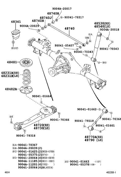 Shock Absorber Avanza toyota avanzaf601lm gmdfj powertrain chassis rear