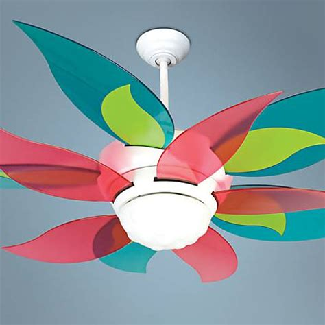 Ceiling Fan Colors by 52 Quot Craftmade Bloom Clear Colors Ceiling Fan With Light