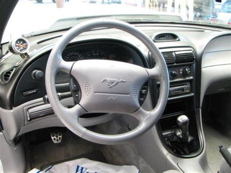 1995 Mustang Gt Interior by 1995 Ford Mustang Interior Pictures Cargurus