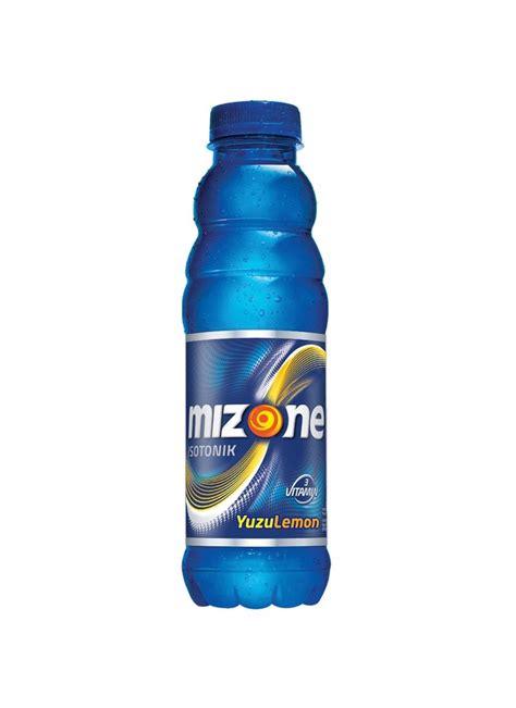 mizone minuman bernutrisi yuzu lemon btl 500ml klikindomaret