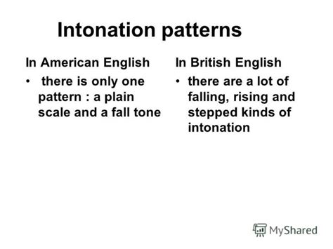 intonation pattern in english language презентация на тему quot 171 the english have really everything