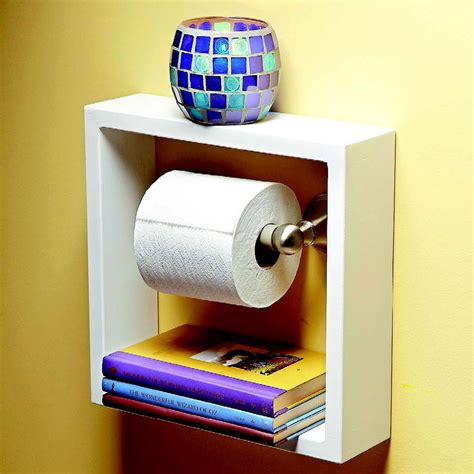 toilet paper shelf clever and useful bathroom storage tips family handyman