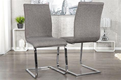 design stuhl grau eleganter design freischwinger hton stuhl strukturstoff