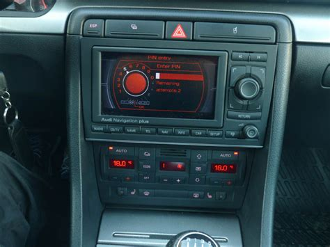 my rns e install with din conversion audi sport net