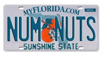 Florida Dmv Vanity Plates 1 800 license plates banned by florida s dmv