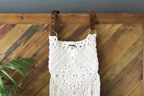crochet pattern for boho bag crochet gypsy bag pattern squareone for