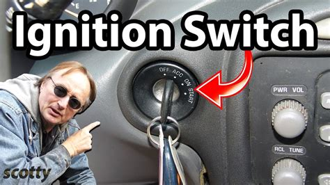 how can i replace the ignition switch in a jeep wrangler s 1993 i know is the steering column how to replace ignition switch in your car youtube