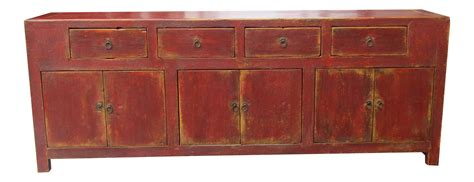 credenza rustic vintage wooden credenza with rustic antique finish chairish