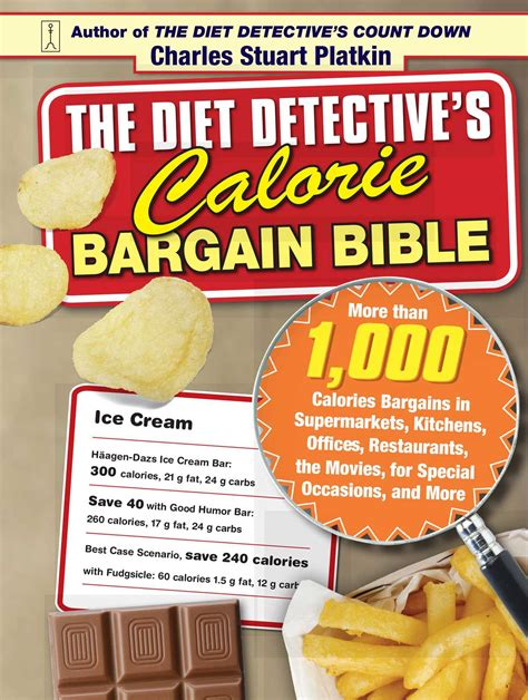 The Diet Detectives Countdown by The Diet Detective S Calorie Bargain Bible Book By