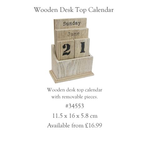 and graham desk calendar s day from gisela graham