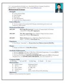 the most awesome mechanical engineer resume format