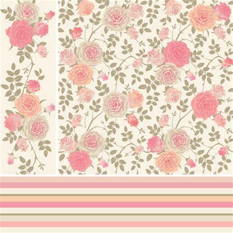 pink pattern vector free download pink rose pattern background vector free vector in