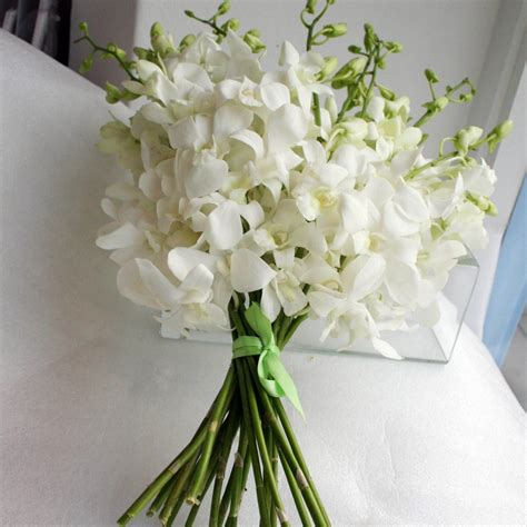 Orchid Wedding Bouquet by White Bouquet Search I Do