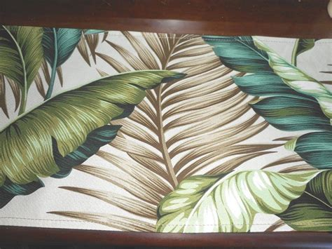Tropical Upholstery Fabric Tropical Hawaiian 100 Cotton Barkcloth Upholstery Fabric