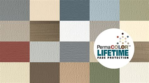 certainteed vinyl siding colors insulated siding colors and styles certainteed