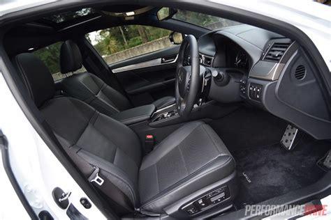 lexus gs350 f sport interior 2015 lexus gs 450h f sport review video performancedrive