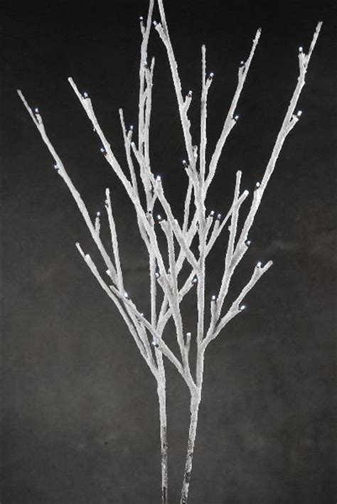 cheap lighted branches battery operated led lighted snow covered branches battery operated 40 led