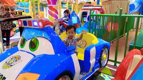 Sofa Odong Odong Anak Karakter adik rafa asik bermain naik odong odong mobil mainan anak