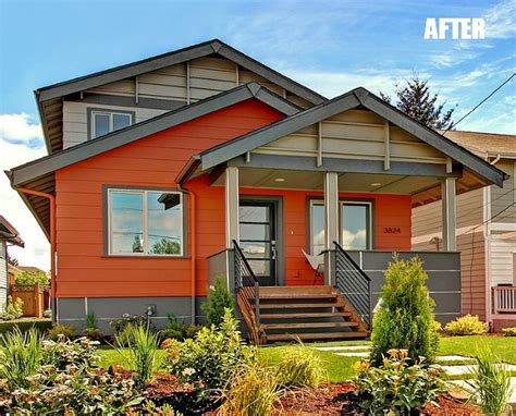 a beat up bungalow gets a modern makeover seattle exterior and bungalow