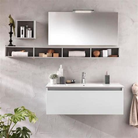 mensole bagno design composizione mobile bagno mensole specchio lada
