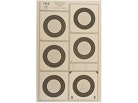 printable ibs targets dcfs ibs benchrest match on sunday 6 9 13