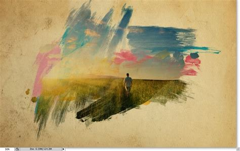 photoshop tutorial on watercolor effects super cool watercolor effect in 10 steps in photoshop