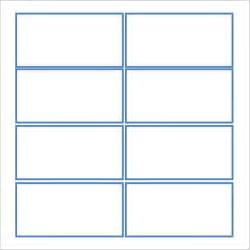 7 note card templates sle templates