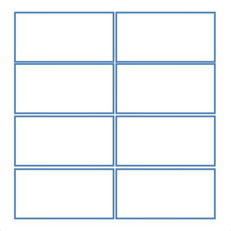 blank note card templates free 7 note card templates sle templates