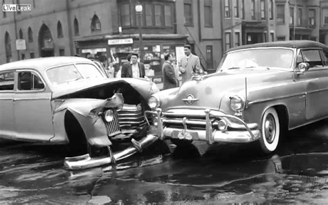 vintage car accident   car crashes youtube